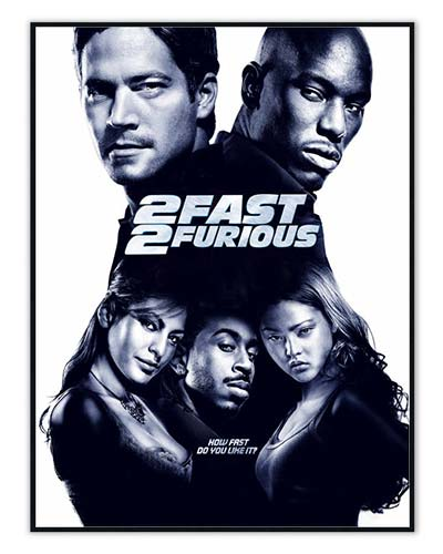 «The Fast and the Furious»-plakater