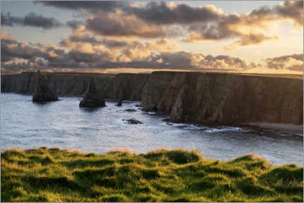 Galleriprint  Cliffs in the sunset - The Wandering Soul