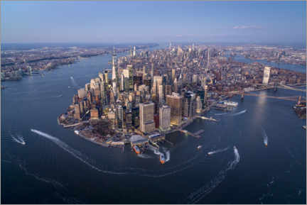 Plakat New York City from above