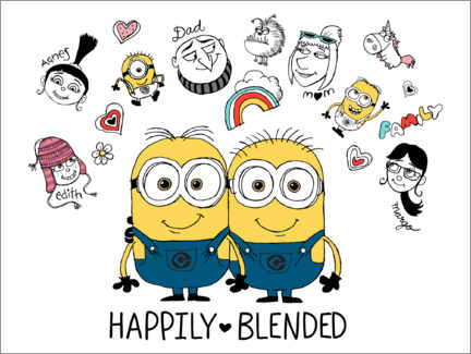 Plakat  Despicable Me 3 - Happily Blended