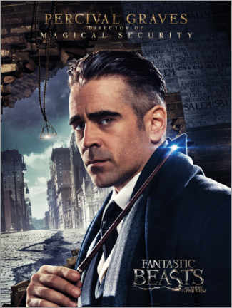 Plakat  Fantastic Beasts and Where to Find Them - Percival Graves