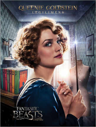 Plakat  Fantastic Beasts and Where to Find Them - Queenie Goldstein