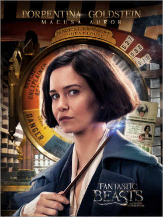 Plakat  Fantastic Beasts and Where to Find Them - Porpentina Goldstein