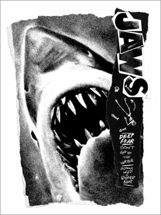 Plakat  Jaws - Deep Fear Collage