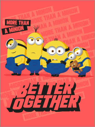 Plakat  Minions Better Together