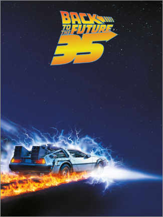 Plakat  35 Years of Back to the future