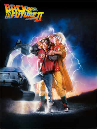 Plakat  Back to the future II