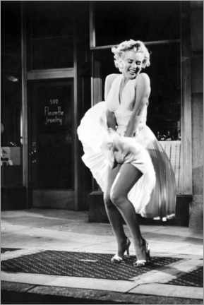 Akrylbilde  Marilyn - The Seven Year Itch iconic pose - Celebrity Collection