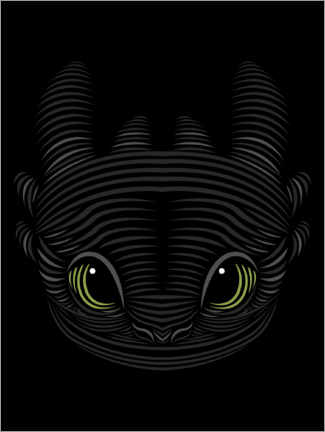 Galleriprint  Toothless
