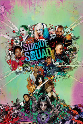 Plakat  Suicide Squad - Worst Heroes Ever