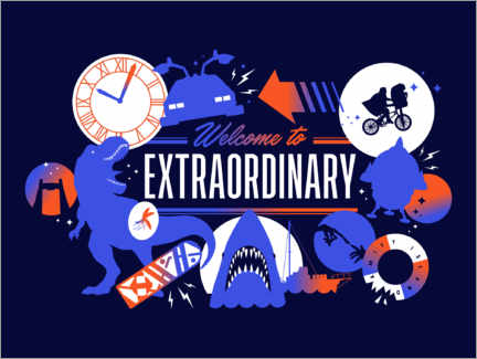 Plakat  Welcome to the extraordinary