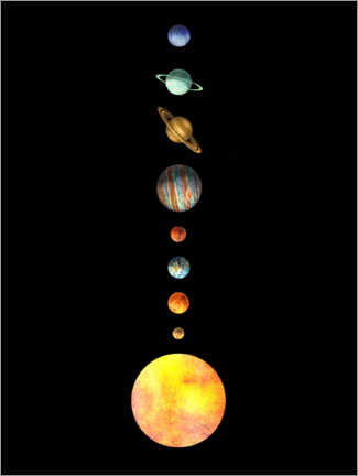 Galleriprint  The Solar System - Terry Fan
