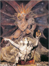 Galleriprint  The Number of the Beast is 666 - William Blake