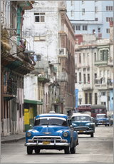 Galleriprint  Taxis in Avenue Colon, Cuba - Lee Frost