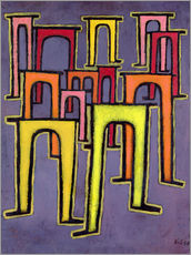 Galleriprint  Revolution of the Viaduct - Paul Klee