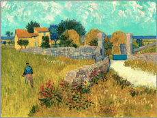 Galleriprint  Farmhouse in the Provence - Vincent van Gogh