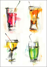 Galleriprint  Colorful drinks