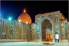 Galleriprint  Shah Cheragh, a funerary monument and mosque in Shiraz, Iran