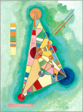 Galleriprint  Variegation in the triangle - Wassily Kandinsky