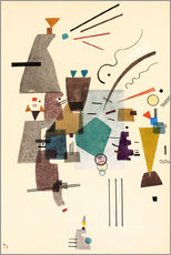 Galleriprint  warmed cold - Wassily Kandinsky