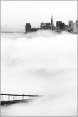 Galleriprint  San Francisco disappeared in the fog