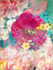 Galleriprint  Colorful flowers in the water - Alaya Gadeh