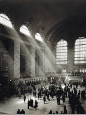 Akrylbilde  Holiday Crowd at Grand Central Terminal