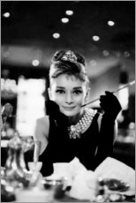 Galleriprint  Audrey Hepburn in Breakfast at Tiffany's - Celebrity Collection