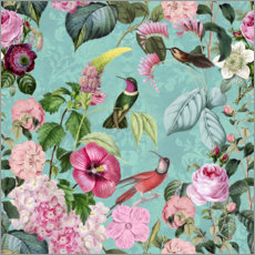 Galleriprint  In the paradise of the hummingbirds - Andrea Haase