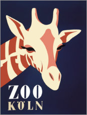 Akrylbilde  Zoo Cologne (German) - Advertising Collection