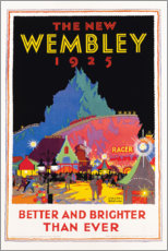 Plakat  The new Wembley 1925 (English) - Gregory Brown