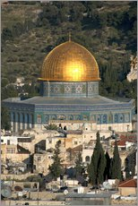 Galleriprint  Jerusalem and the Dome of the Rock - David Noyes