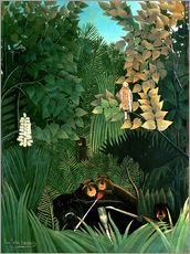 Galleriprint  The Merry Jesters - Henri Rousseau