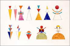 Galleriprint  Sketch for picture XVI, The Great Tower of Kiev - Wassily Kandinsky