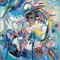 Galleriprint  Red Square - Wassily Kandinsky