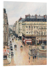 Akrylbilde  The Rue Saint-Honoré in the afternoon - Camille Pissarro