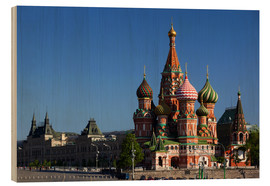 Trebilde  St. Basil's Cathedral in Moscow - Walter Bibikow