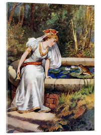 Akrylbilde  The Frog Prince - William Henry Margetson