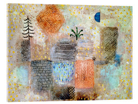 Akrylbilde  Park with the cool Crescent - Paul Klee