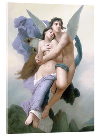 Akrylbilde  The Abduction of Psyche - William Adolphe Bouguereau