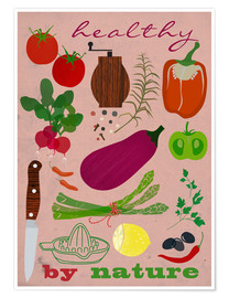 Plakat Healthy by nature II