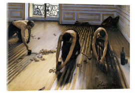 Akrylbilde  The Floor Planers - Gustave Caillebotte