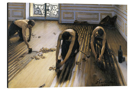 Aluminiumsbilde  The Floor Planers - Gustave Caillebotte
