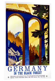 Akrylbilde  Germany, in the black forest - Travel Collection