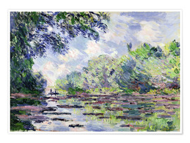 Plakat Seine at Giverny