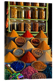 Akrylbilde  Spices from Morocco - HADYPHOTO