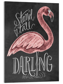 Akrylbilde  Stand Tall, Darling - Lily & Val