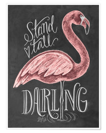 Plakat  Stand Tall, Darling - Lily & Val
