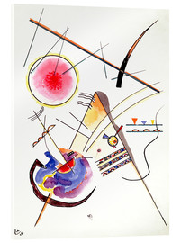 Akrylbilde  Watercolor from the Hess Guest Book - Wassily Kandinsky