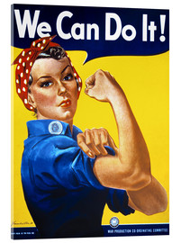 Akrylbilde  We Can Do It! - Advertising Collection